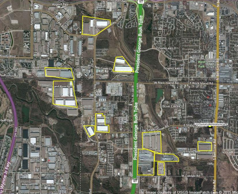 mapping Dallas