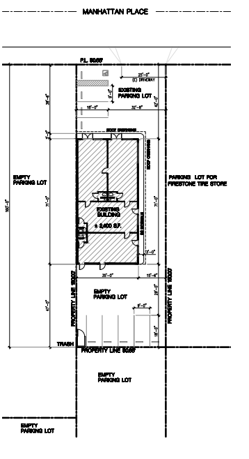 15718 site plan