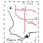 Icon Map of the Approximate Location